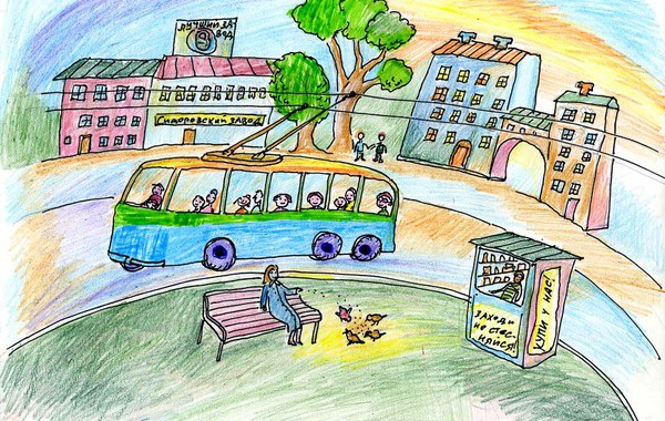 Read more about the article Приглашаем юных Омичей принять участие в конкурсе рисунка ко Дню Рождения Троллейбуса