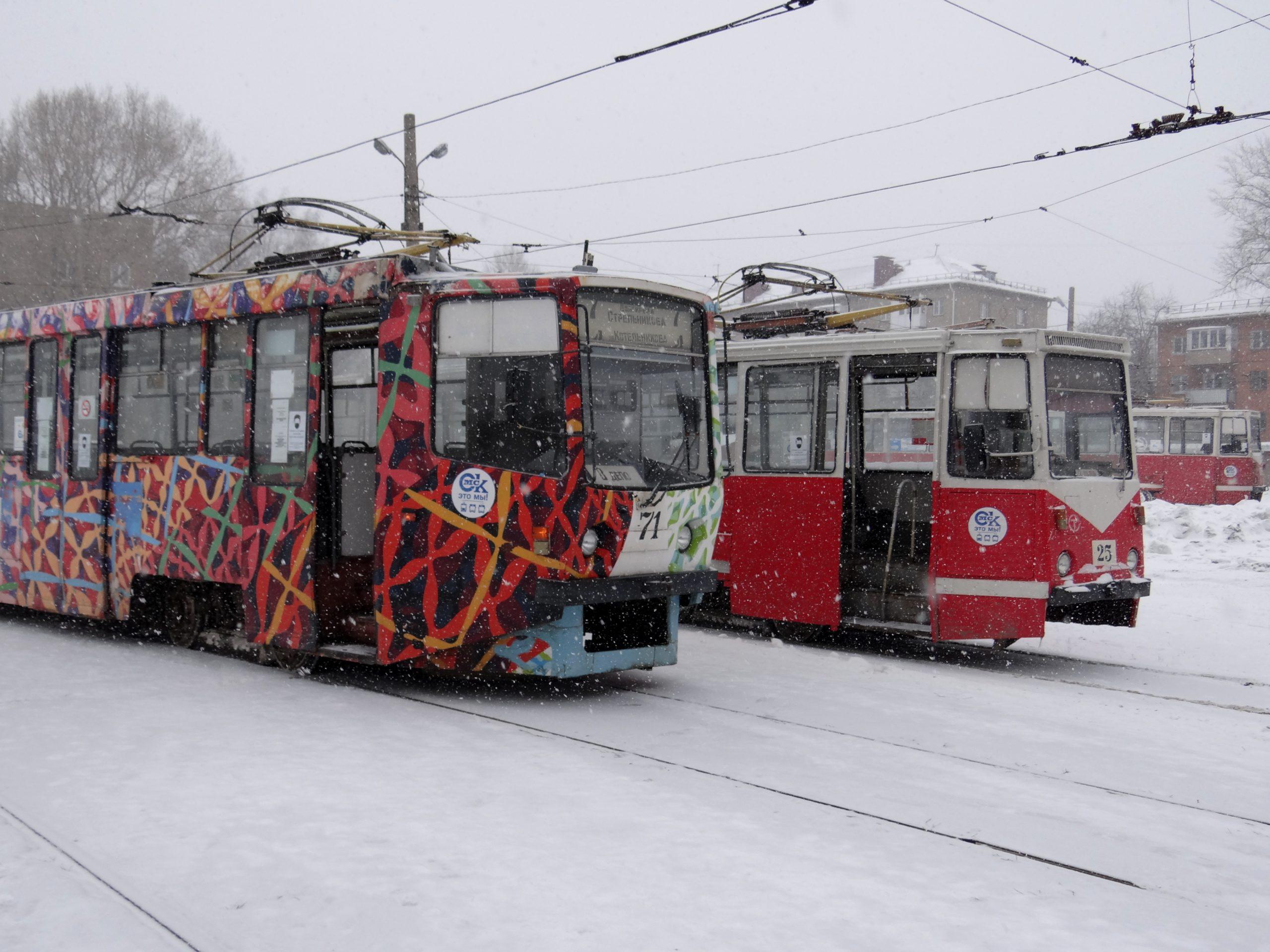 Read more about the article В трамвайном депо обучающиеся приступили к стажировке