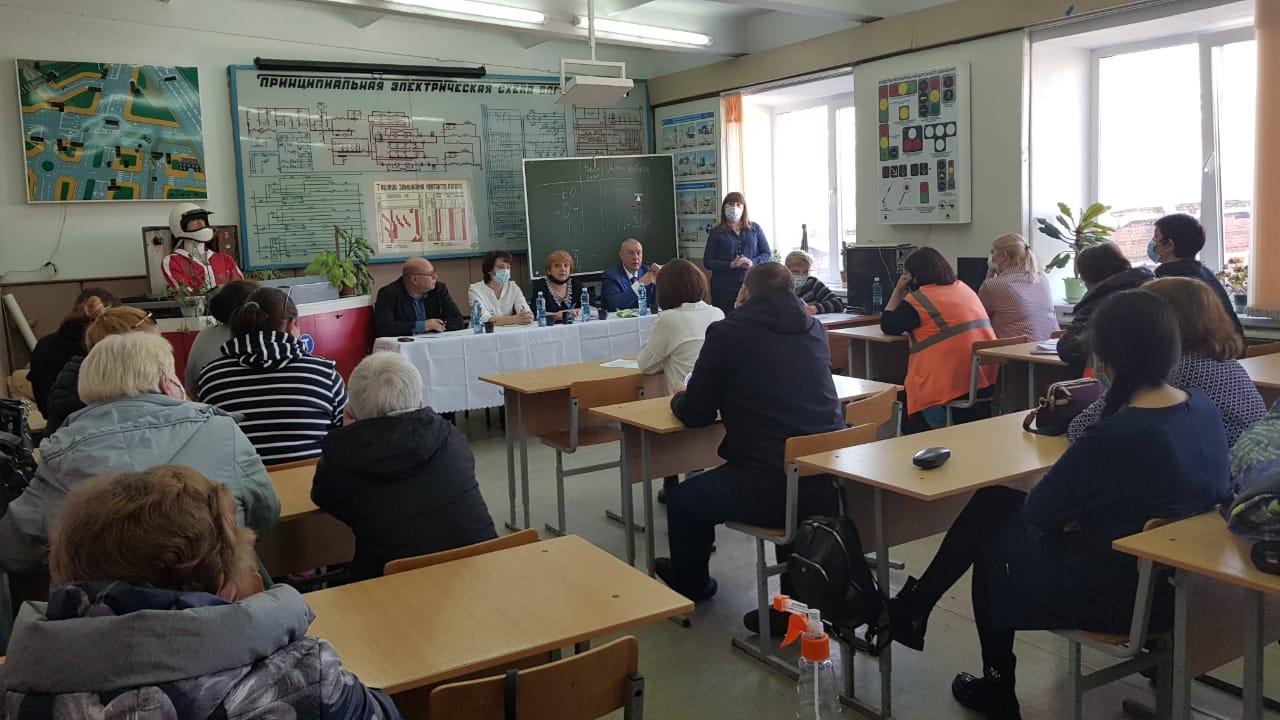 Read more about the article Инструктивное совещание в филиале «Трамвайное депо» МП г.Омска «Электрический транспорт»