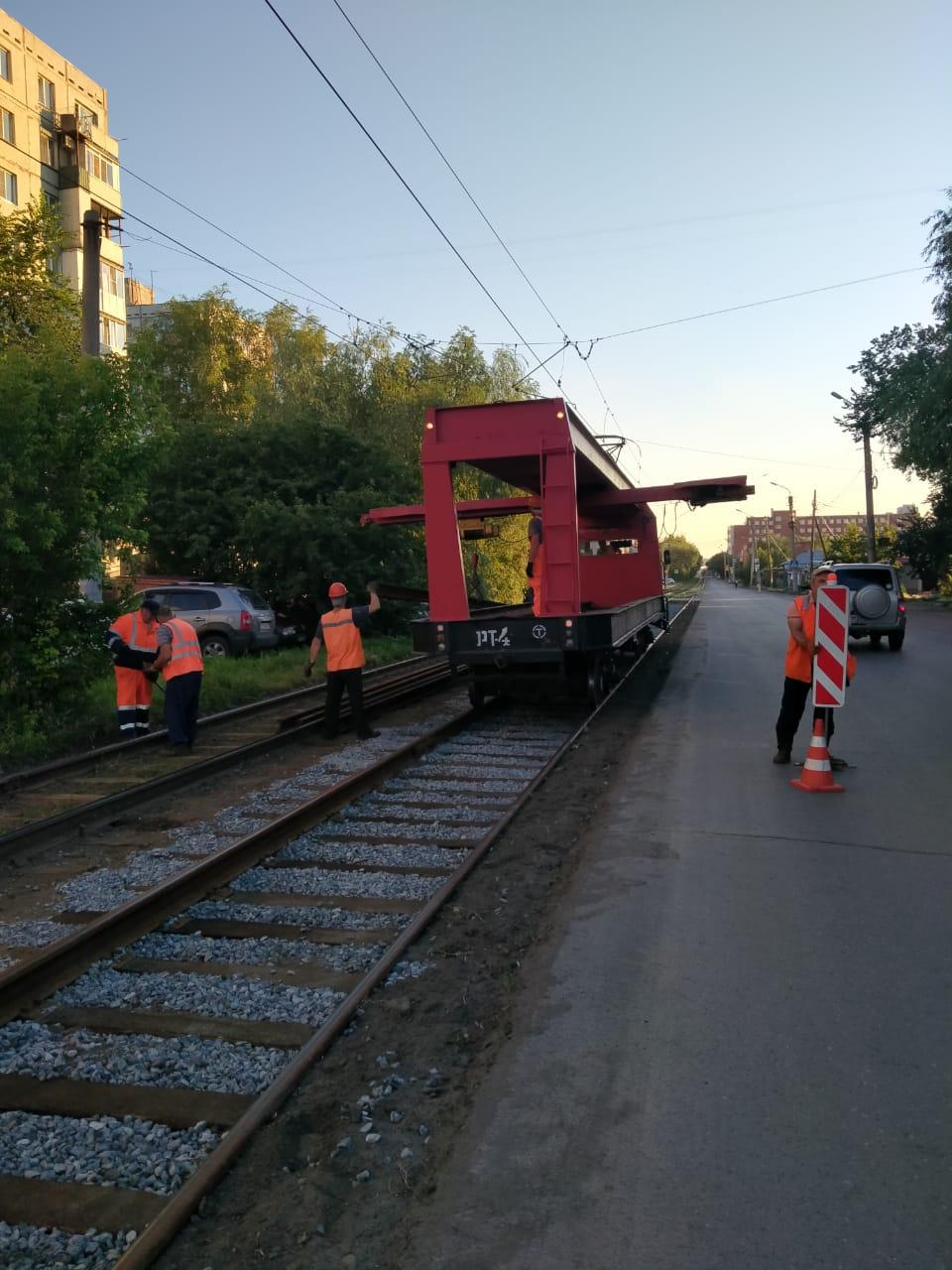 Read more about the article Завершен капитальный ремонт трамвайных путей по улице Лермонтова